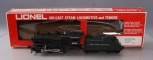Lionel 6-8516 New York Central 0-4-0 Steam Switcher and Tender EX/Box