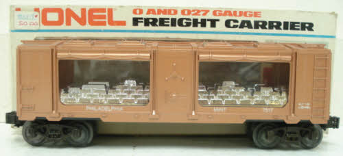 Lionel 6-7517 Philadelphia Mint Car LN/Box 023922675170 Lionel 6-7517