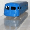"Vintage Diecast Tootsietoy 1950's ""Greyhound Lines"" #747 Travel Bus Repainted"