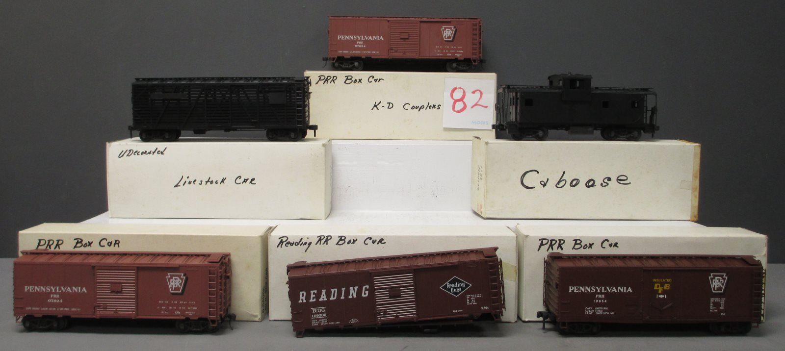 Buy O Gauge Freight Cars 3-Rail [6] | Trainz Auctions