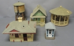 Assorted G Scale Buildings and Layout Accessories [5]