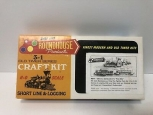 Roundhouse 1507 HO Scale 3-N-1 Fire Train Craft Kit LN/Box