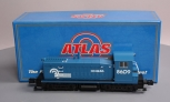 Atlas 6166-1 O Gauge Conrail Non-Powered SW-8 Diesel Locomotive (3-Rail) EX/Box