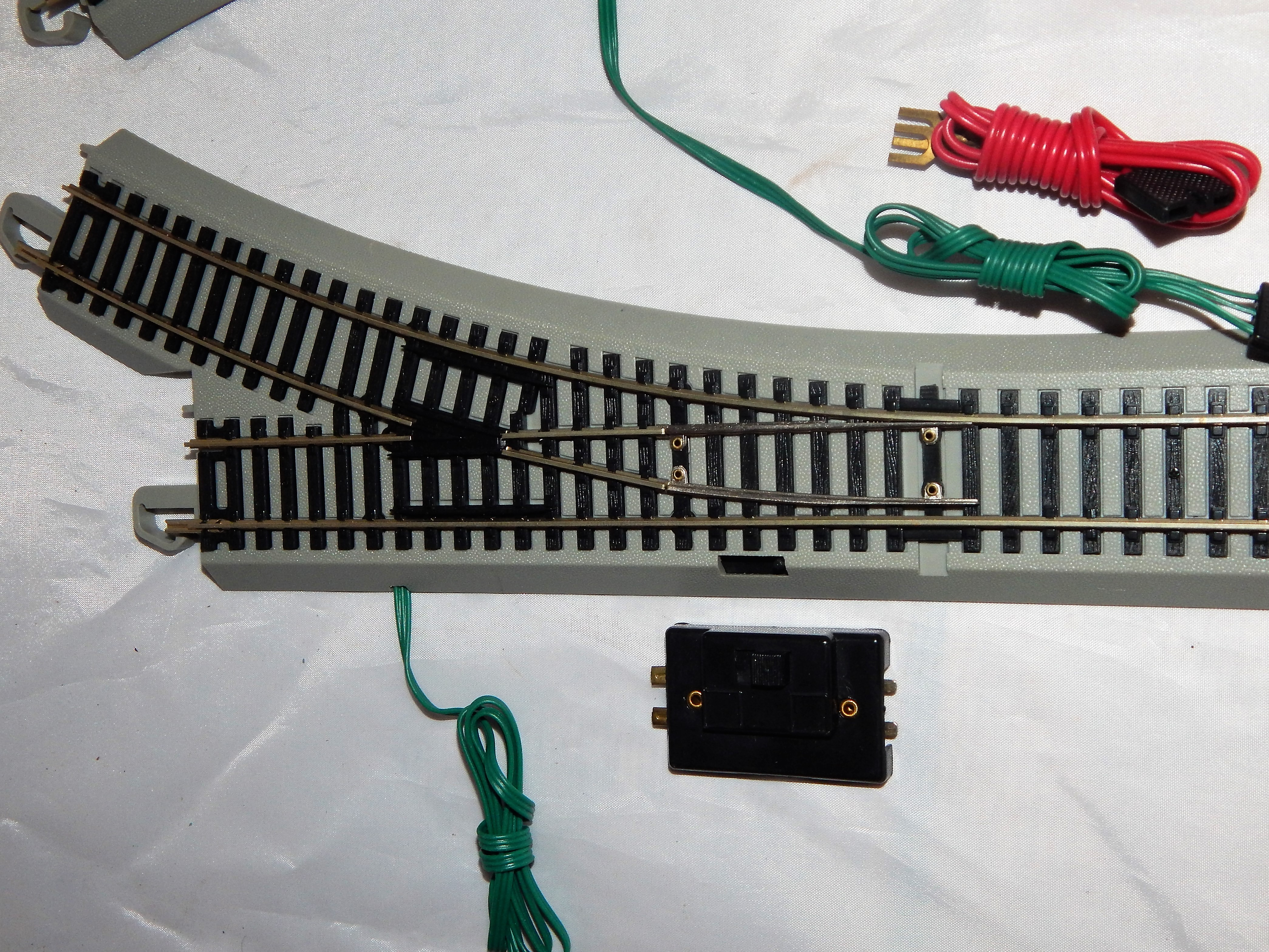 Buy Bachmann Ho 44561 44562 Pair Remote Turnout Nickle Silver Gray Switch Track Wiring Roadbed Ez