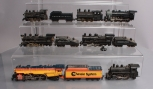 HO Scale Assorted Steam Locomotives & Tenders [11]
