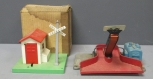 Lionel 397 Rubber Belt Coal Loader & 45N Metal Automatic Gateman