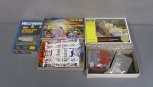 Walthers, Faller & DPM N Scale Assorted Building Kits [3] EX/Box