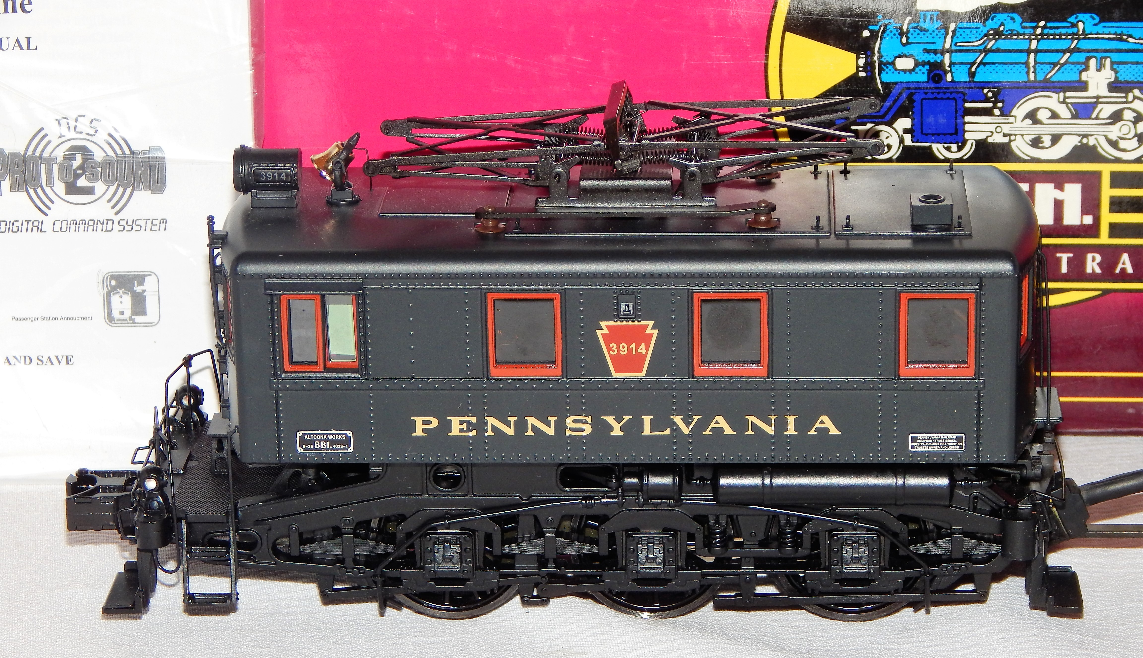 Buy MTH 20-5561-1 Pennsylvania BB1 Electric w/ PS-2   Trainz Auctions