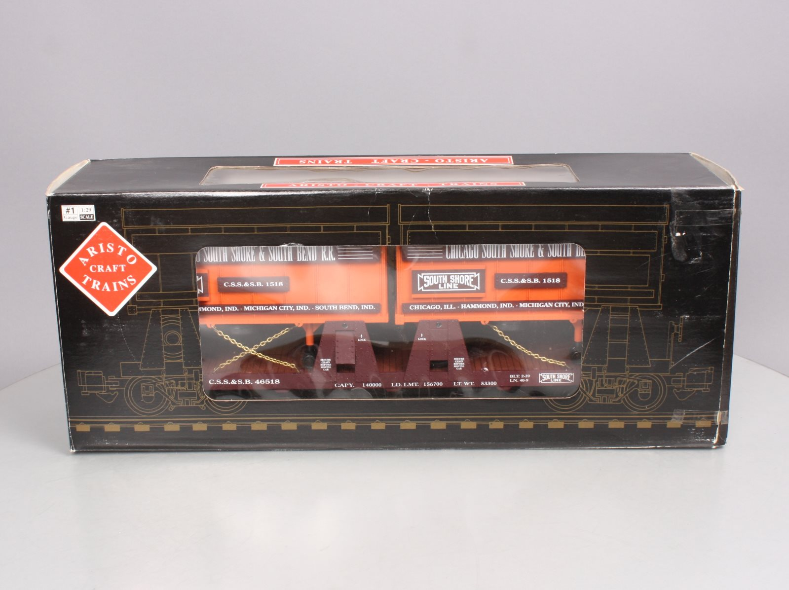 Buy Aristo-Craft 46518 CSSB Piggyback Flatcar LN/Box
