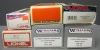Lionel, Williams O Gauge Freight Cars: 6-9050, 6-16318, WAL05, WAL23, 6-9855, 6-