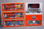 Lionel Freight Cars: 6-27121, 6-27170, 6-27121, 6-26888. 6-26883 (5)/Box