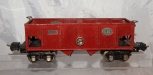 Prewar Lionel Train 2816 Red Hopper 1938-42 Automatic box couplers Operating bay