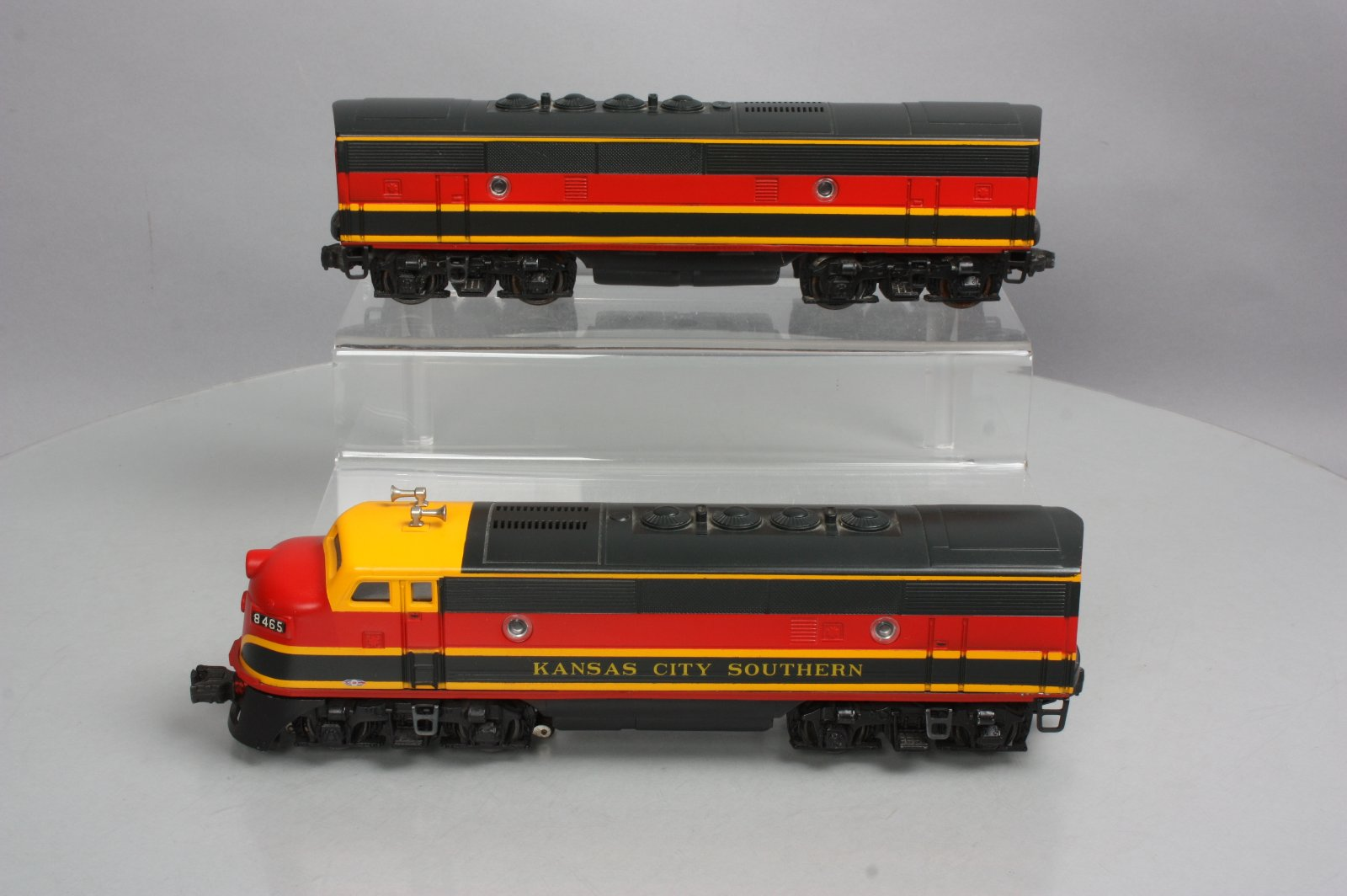 Buy Custom Lionel Kansas City Southern F3 AB Diesel Set on Postwar ...