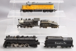 Mantua HO Scale Vintage Santa Fe & Union Pacific Steam and Diesel Locomotives [3