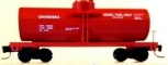 MicroTrains 14419-2 Z Scale Canadian National 39' Single Dome Tank Car #990984