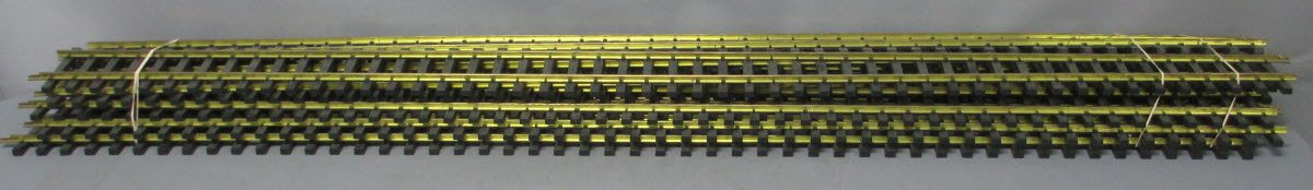 USA Trains R81065 G 60 Brass Straight Track (10) EX 843165004304 USA Trains R81065