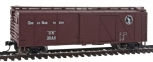 Walthers 910-2503 HO Scale 40' Single Sheath Box Car #31144 NIB