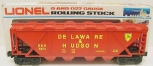 Lionel 6-6124 O Scale Delaware & Hudson Covered Hopper LN/Box