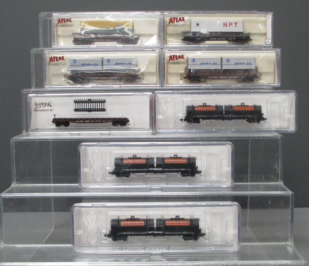 Buy Atlas N Scale Assorted Freight Cars [8] LN/Box | Trainz