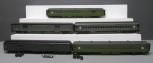 O Scale Reading & New York Central Passenger Cars [5] (2-Rail)