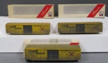 Weaver 1402 Railbox Set of 3 Boxcars/Box