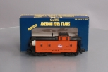 American Flyer 6-48715 S Scale Milwaukee Road Offset Cupola Caboose LN/Box