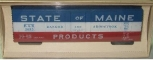American Models 220 S Scale State of Maine BAR Reefer Car #2093 NIB