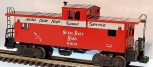 Lionel 6-6905 NKP Lighted Extended Vision Caboose EX