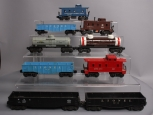 Lionel & Other Assorted & Custom Postwar Freight Cars; 6012, 6457, 6042, 6035, 6