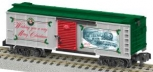 American Flyer 6-48833 S Scale 2013 Christmas Boxcar LN/Box