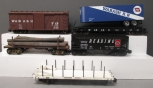 Assorted G Scale Freight Cars [5]