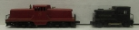 Lionel O Postwar Diesel Locomotives: 41 US Army and 627 Lehigh Valley