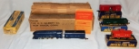 American Flyer SET 48T Royal Blue Streamline Loco Freight BOXED CLEANEST '48 B&O