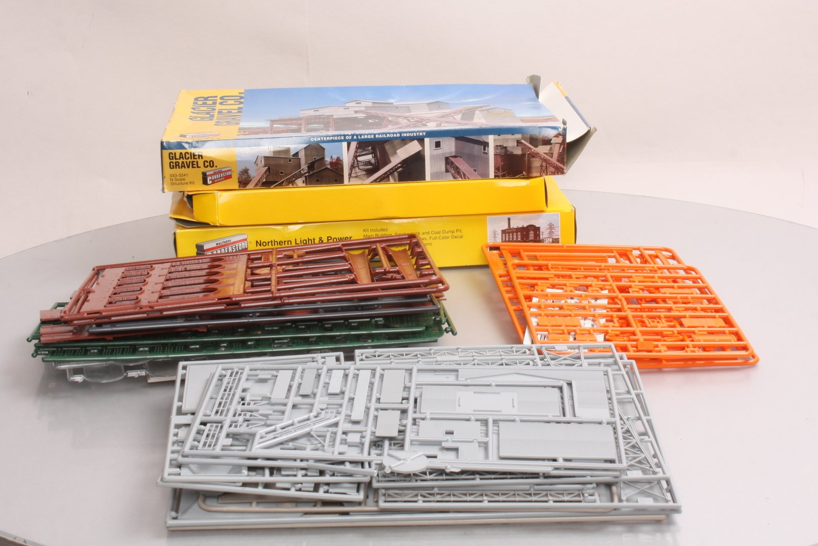 Buy Walthers N Scale Building Kits: 933-3214, 933-3222, 933-3241 (3