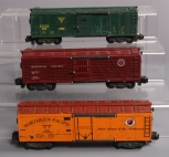 American Flyer S Scale Assorted Postwar Freight Cars; 929, 922, 947 [3]
