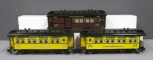 G Scale Assorted Coach & Combine Passenger Cars [3]