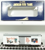 American Flyer 6-48327 S Scale 1997 Christmas Boxcar LN/Box
