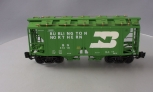 Aristo-Craft 41218 Burlington Northern 2-Bay Covered Hopper