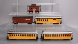 Bachmann Spectrum On30 Scale Rio Grande Passenger and Freight Cars [5] EX