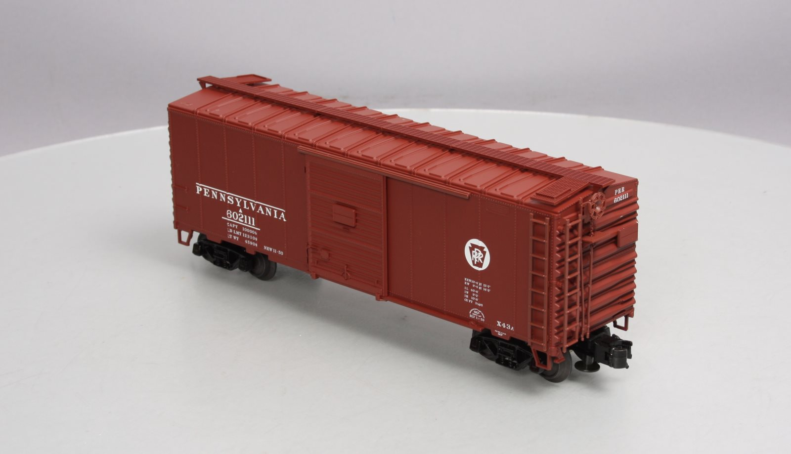 Buy Atlas 0502 2 Pennsylvania 40 Sliding Door Boxcar 3 Rail Ln