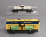 American Flyer S Gauge Postwar Tank Cars: 910 Gilbert Chemicals & 24330 Baker's