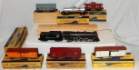 1954 American Flyer K5437T The METEOR Steam Freight Train Set 293 Pacific +6Cars