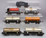 Lionel O Gauge Assorted Prewar Freight Cars & Tender (7)