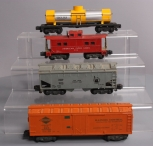 American Flyer S Scale Assorted Freight Cars; 924, 5016, 904, 923 [4]