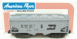 American Flyer 6-48605 S Scale Burlington Northern Covered Hopper LN/Box