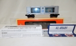 Lionel 6-19855 Christmas Aquarium Car Illuminated w/ Motion Holiday 1998 Box+Ins