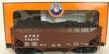 Lionel 6-17019 Santa Fe 50 Ton Offset Hopper MT/Box