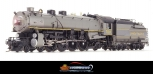 Broadway Limited 2207 HO Union Pacific Class MT-73 4-8-2 with Oil Tender #7021