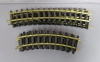 USA Trains G Scale Euro STyle BRASS Straight & Curved Track Sections [25] EX  USA Trains