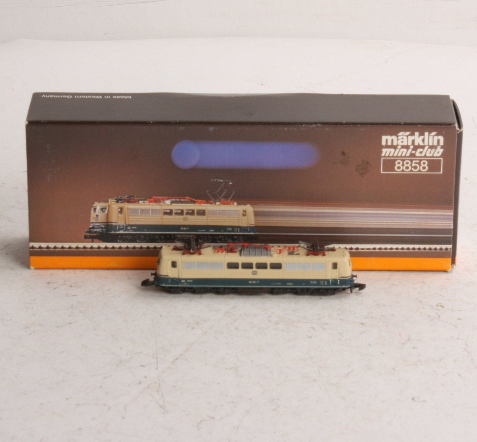 Buy Marklin 8858 Z Scale DB Electric Locomotive EX/Box
